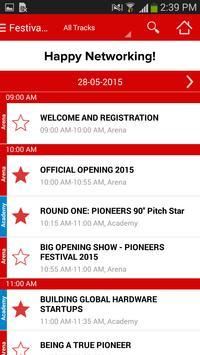 Pioneers Festival 2015 screenshot 2