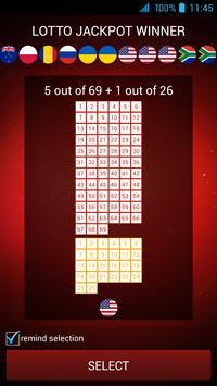 Lotto Jackpot Winner poster