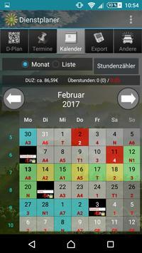 Shift planner screenshot 2