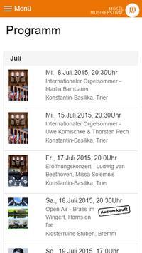 Mosel Musikfestival screenshot 2