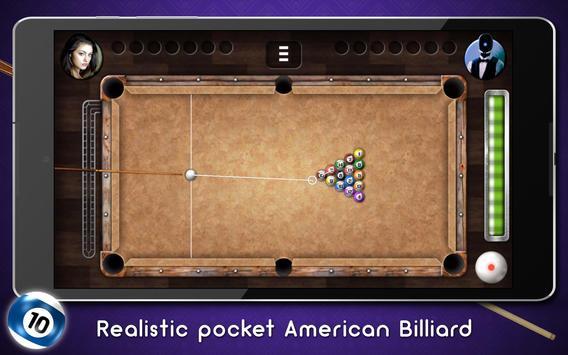 Ball Pool: American Billiard poster