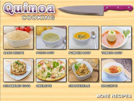 Quinoa Cookbook poster