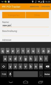 PoiTracker apk screenshot