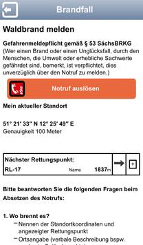 Waldbrandgefahr Sachsen apk screenshot