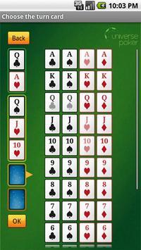 Texas Holdem odds calculator apk screenshot