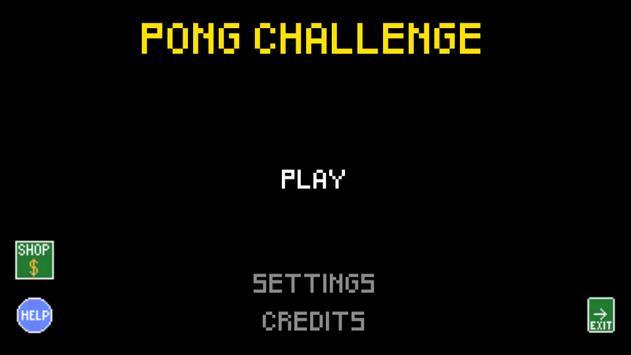 Pong Challenge poster