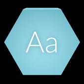 Raleway Font [Cyanogenmod] icon