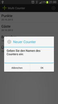 Multi Counter screenshot 2