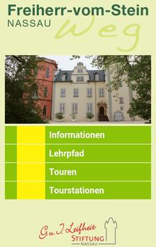 Lehrpfad Nassau (Deutsch) poster
