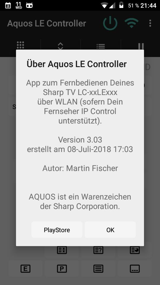 Controller für Sharp Aquos LE TV for Android - APK Download