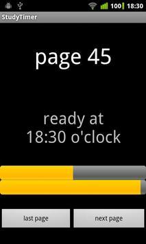 StudyTimer apk screenshot