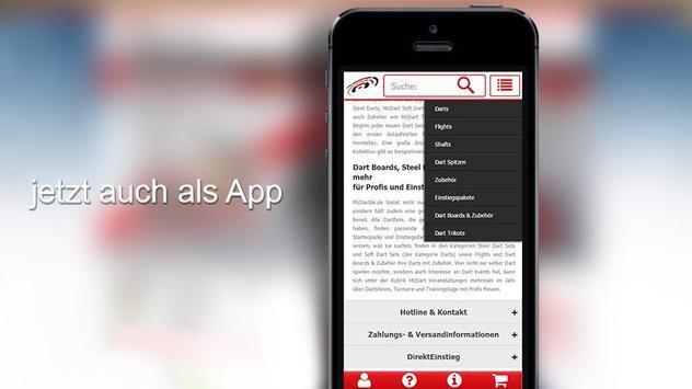 McDart.de-App apk screenshot