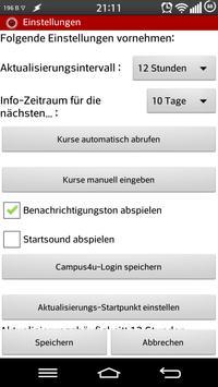myHWR 2.x HWR Berlin Campus4u apk screenshot