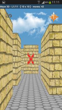 Maze 3D poster