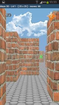 Maze 3D apk screenshot
