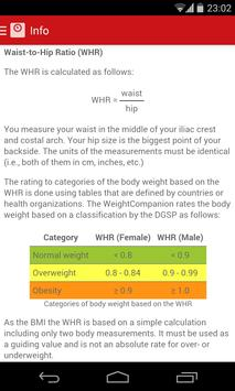 WeightCompanion Weight Tracker apk screenshot