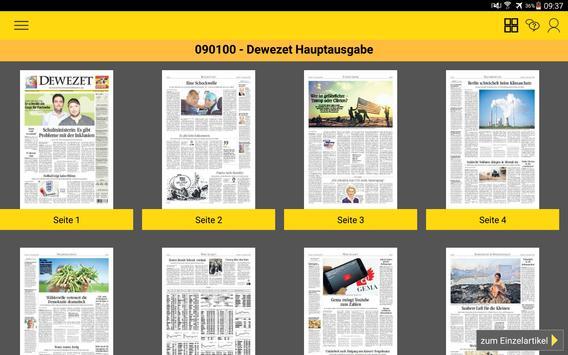 Dewezet e-Paper apk screenshot