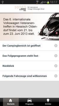 VW-Veteranentreffen poster