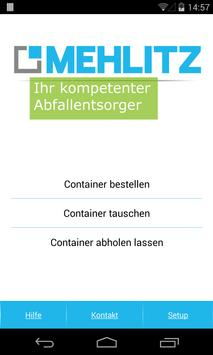 Mehlitz Containerapp poster