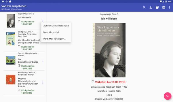 Meine Bücherei - Westerheim (Unterallgäu) screenshot 7