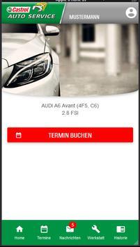 Castrol AUTO SERVICE poster