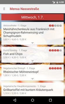 Mensa Flensburg screenshot 4