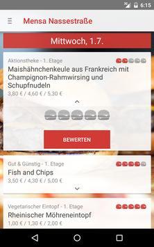 Mensa Lübeck apk screenshot