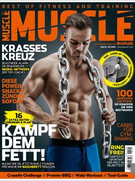 MUSCLE Deutschland Magazin apk screenshot