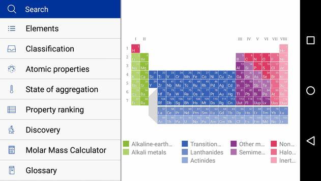 merck pte poster merck pte apk screenshot - Merck Periodic Table App