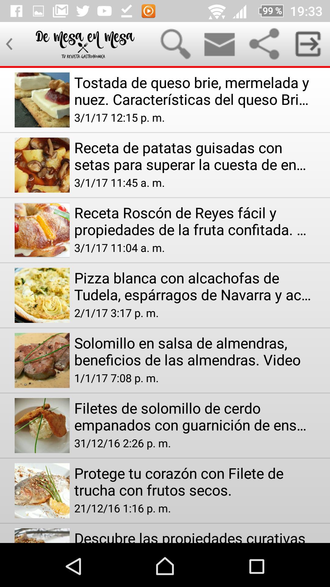 De Mesa En Mesa Revista Gastro For Android Apk Download