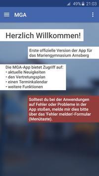 Mariengymnasium Arnsberg apk screenshot
