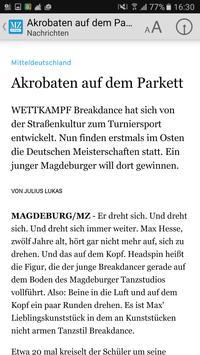 Mitteldeutsche Zeitung E-Paper apk screenshot