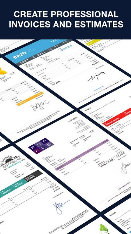 invoice by billdu invoice and quote maker apk download free
