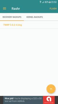 [ROOT] Rashr - Flash Tool apk screenshot