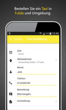 Taxizentrale Fulda screenshot 1