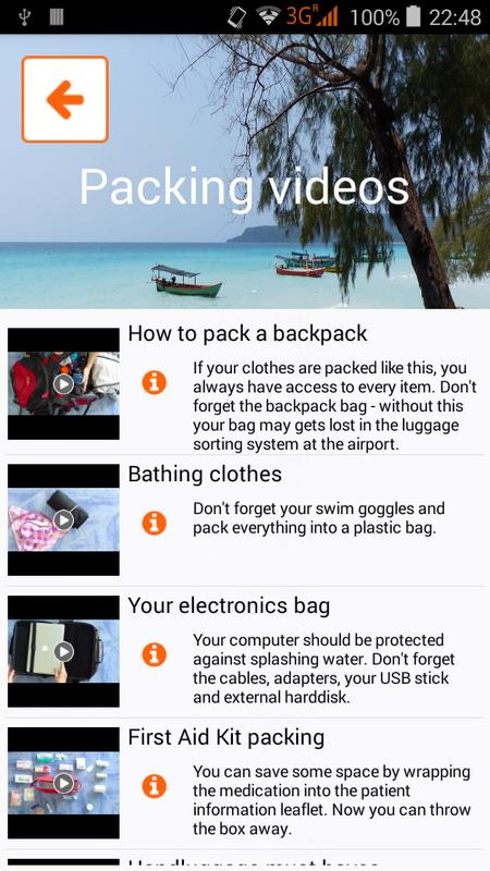44afb82d6e Packnomad - pack your bag for Android - APK Download