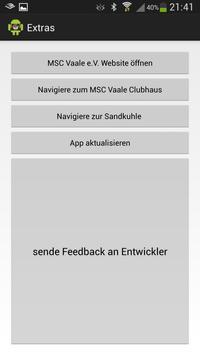 MSC Vaale e.V. APP apk screenshot