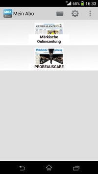 MOZ ePaper apk screenshot