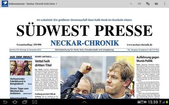 E-Paper Neckar-Chronik apk screenshot