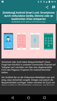Offizielle AndroidUnited App (Unreleased) apk screenshot