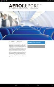 MTU Aero Engines AEROREPORT poster