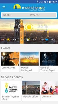 Munich SmartCity App poster
