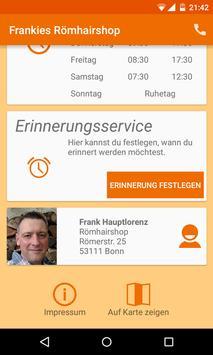 Frankies Römhairshop apk screenshot