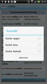 Türkisch Deutsch Wörterbuch screenshot 3