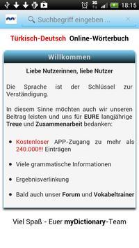 Türkisch Deutsch Wörterbuch screenshot 5