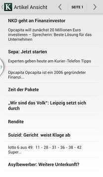 Kurier E-Paper screenshot 2