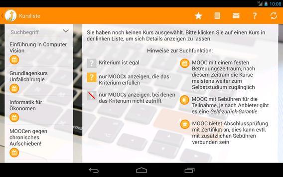 Deutsche MOOCs apk screenshot