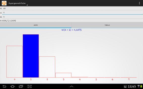 Unwahrscheinlichkeitsrechner apk screenshot