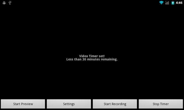 Video Timer apk screenshot