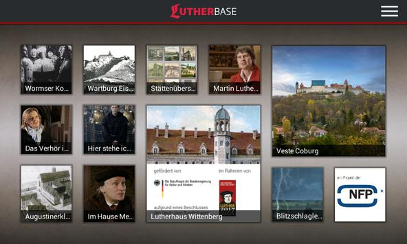 LUTHERBASE poster